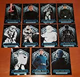 2016 Topps - Star Wars The Force Awakens (Series 2) - Complete 11 Card Power of the First Order Insert Set