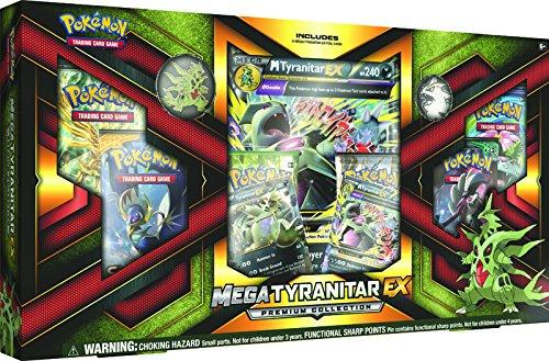 GTYREXBX 2017 Pok Mega Tyranitar Ex Premium Box Game, Green ()