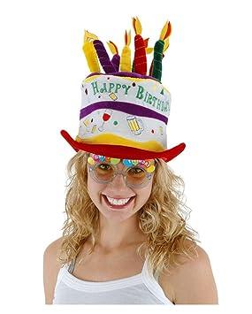 Sombrero feliz cumpleaños: Amazon.es: Juguetes y juegos