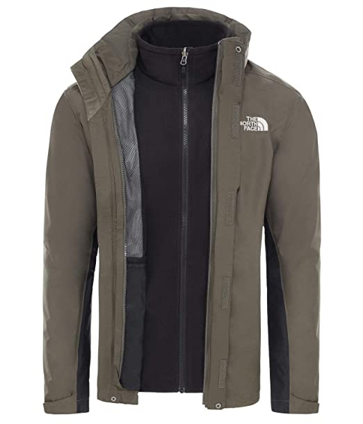 The North Face Mens Evolution II Triclimate Jacket, Ohne