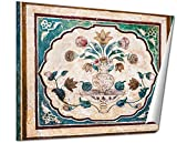 Ashley Giclee Pattern On The Palace Jaipur Fine Art Decoration for kitchen, living room, home office, den or bedroom, ready to frame, 24x30 Print
