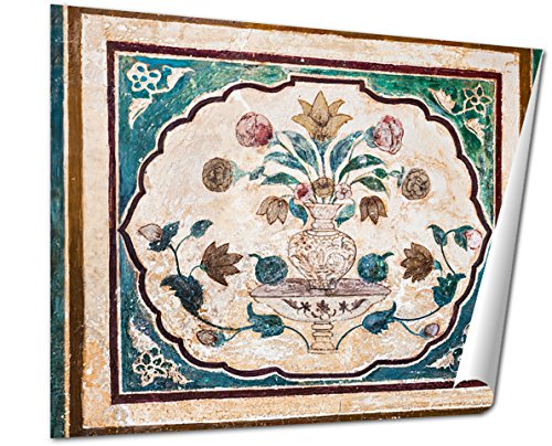 Ashley Giclee Pattern On The Palace Jaipur Fine Art Decoration for kitchen, living room, home office, den or bedroom, ready to frame, 24x30 Print by Ashley Giclee