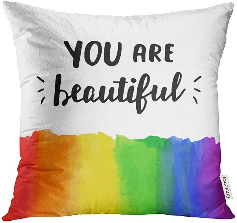 shizh Colorido Eres Hermoso Orgullo Gay Inspirado con Acuarela ...