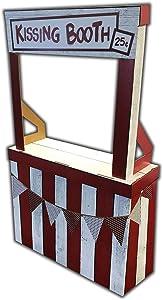 Cardboard People Kissing Booth Life Size Cardboard Cutout Standup