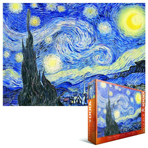 how to teach children to do van gogh starry night
