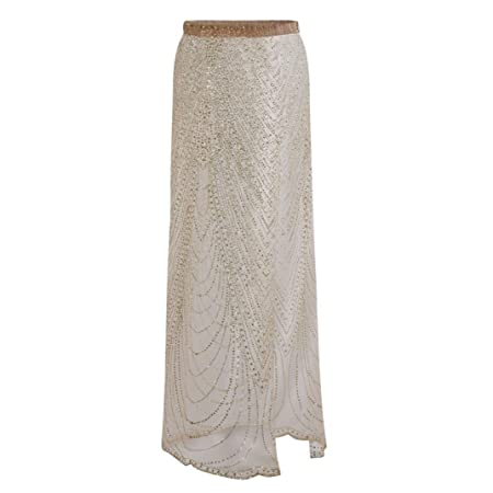 861a97e74 Turkey Women Swimwear Cover Ups, Ladies Sequins Sarong Wrap Pareo Skirt  Swimsuit Bikini Beach Cover Up (Gold, L): Amazon.co.uk: Kitchen & Home