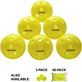 Gamma Sports Photon Outdoor Pickleballs, High-Vis Optic Green USAPA Approved Pickleball Balls