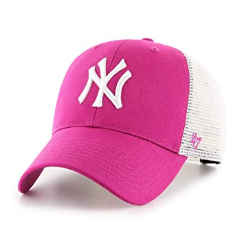 47Brand New York Yankees MLB Cap Verstellbar Baseball Kappe Damen ...