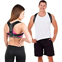 LIFEWAY Posture Corrector for Men & Women - Upper Back Brace for Spine & Clavicle Support - Relives Pain in Neck…