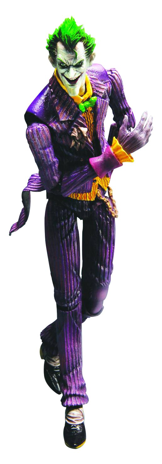 Square Enix Batman Arkham Asylum Play Arts Kai Action-Figur Der Joker