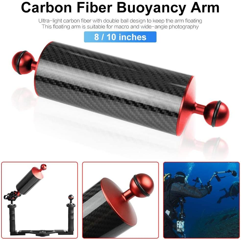 Nicemeet Floating Diving Photography Rod Diving Photography Expansion Accessories Carbon Fiber Buoyancy Arm