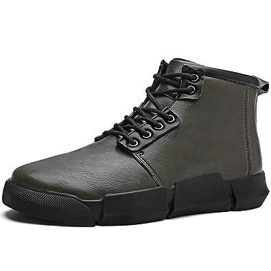Winterschuhe Warm Winterstiefel Gefütterte Stiefeletten Stiefel Leder Wasserdicht  Winter Hohe Sneaker Atmungsaktiv Outdoor Ankle Boots für 00d865e136