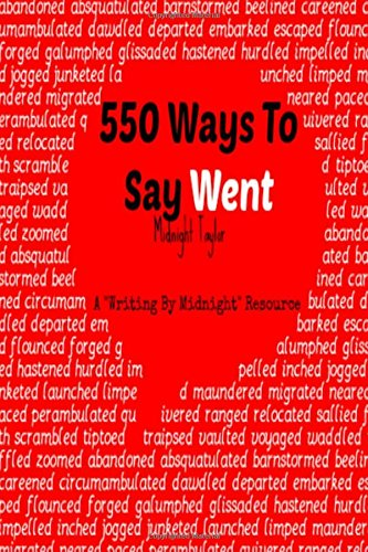 550 Ways To Say Went PDF