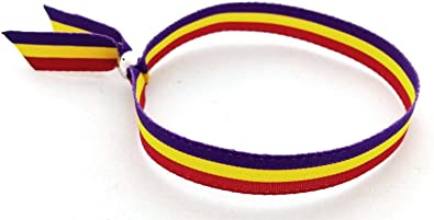 Gen Pulsera Cinta Textil Bandera Republicana España Española ...