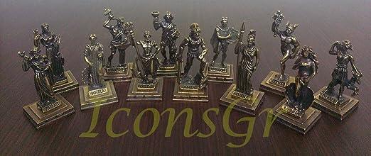 Amazon Com Iconsgr Ancient Greek Zamac Miniature Statues Of
