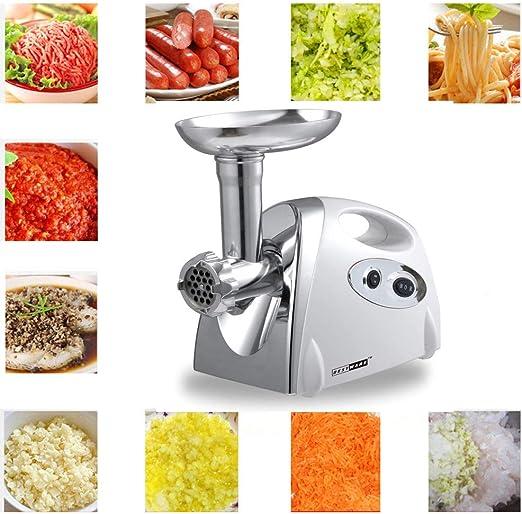 SAFE Meat Grinder Mincer Manual Kitchen Food Mincer Hand Sausage Stuffer Silver