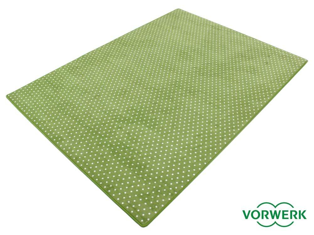 HEVO Vorwerk Bijou Petticoat grün Teppich   Kinderteppich   Spielteppich 150x200 cm SondeROTition