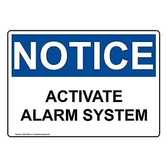 Amazon.com: compliancesigns señal de aviso de OSHA de ...