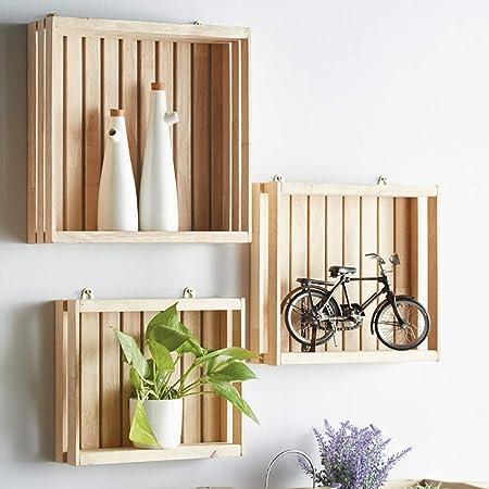Un Insieme Di Mensole.Wall Shelves Wxp Zwj Mensola Quadrata Della Scatola Un Insieme
