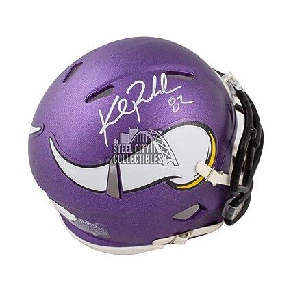 95217408c8e Kyle Rudolph Autographed Helmet - Speed Mini COA - JSA Certified - Autographed  NFL Mini Helmets