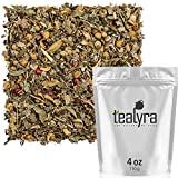 Cheap Tealyra – Tranquil Dream – Chamomile Honeybush Lavender – Calming – Relaxing – Herbal Loose Leaf Tea – Caffeine-Free – All Natural – 110g (4-ounce)