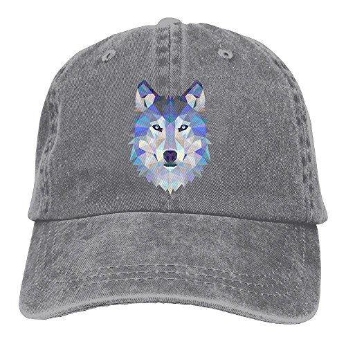 Safan532 Unisex Wolf Animals Lover Funny Logo Summer Fashion Cotton Baseball Cap Adjustable Trucker Hats For Outdoor - Bay Geelong