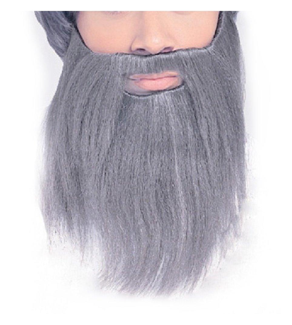 Largemouth Full Beard Costume Accessory (Grey)