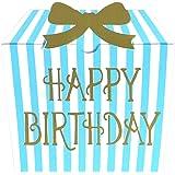 moovin メッセージカード ムービーを贈れる インスタント ムービーカード GIFTBOX Happy Birthday