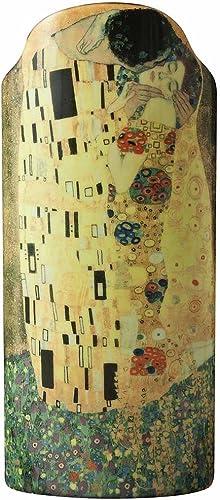 John Beswick 23 x 10 cm Klimt The Kiss Silhouette d'art Vase