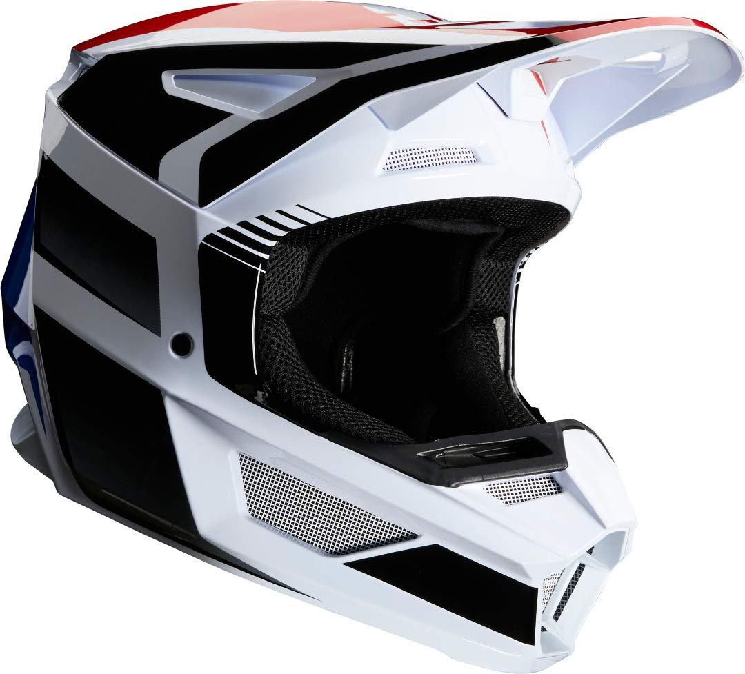 Fox Helm V2 HAYL Blau//Rot