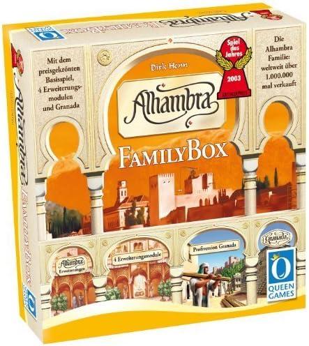 Alhambra: Family Box by Asmodee: Amazon.es: Juguetes y juegos