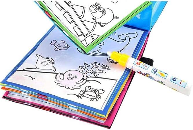 Danni Magic - Libro de dibujo con dibujo de agua para ...