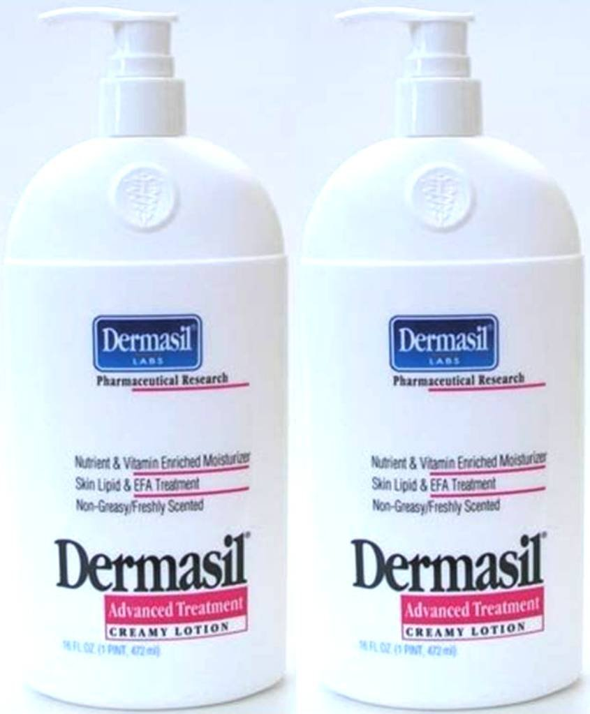 Dermasil Labs Pharmaceutical Research Advanced Treatment Creamy Lotion Freshly Scented 14.5 fl oz (Pack of