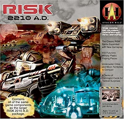 Risk 2210 Ad from Avalon Hill
