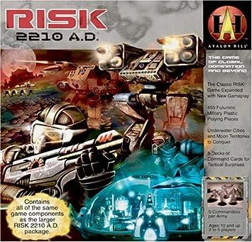 Milton Bradley 88600 - Juego de Mesa Risk 2210 A.D. sobre Guerra ...
