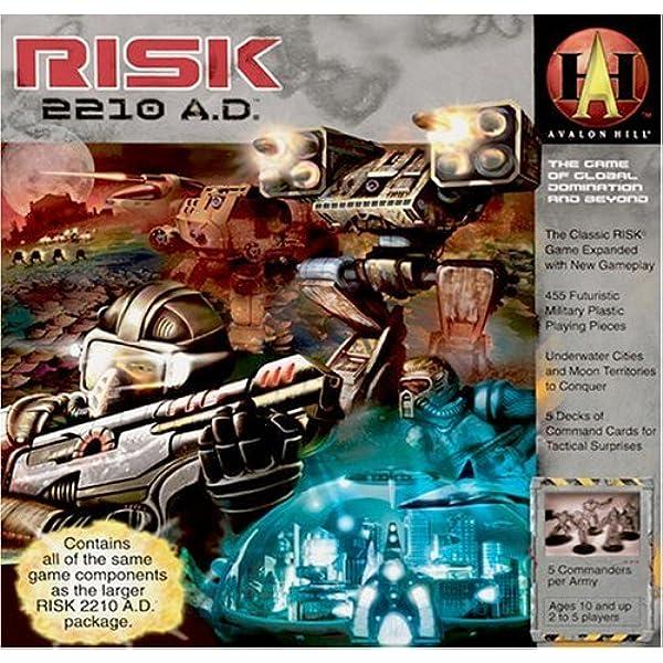 Avalon Hill- Risk 2210 AD - Resized (Inglés) (Milton Bradley 86600000B): Desconocido: Amazon.es: Juguetes y juegos