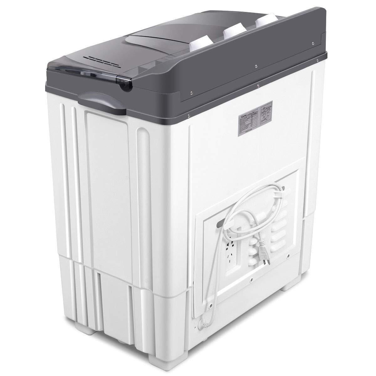 CHEAP LHONE Portable Twin Tub Washing Machine with Spin ...