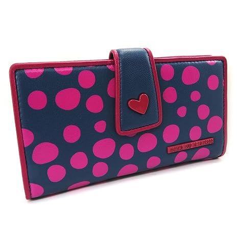 Billetera de cuero de color rosa púrpura Agatha Ruiz De La ...