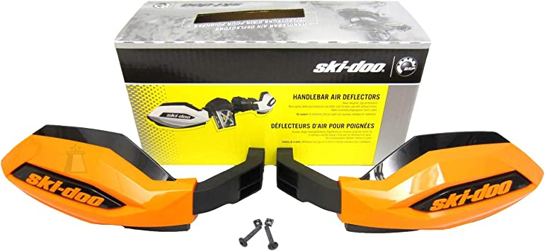Windshield Deflectors Ski-Doo New OEM Handlebar Air Wind ...