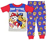 Paw Patrol Little Boys' Squad Leaders Short Sleeve 2 PC Pajama Set