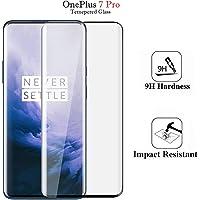 Chevron OnePlus 7 Pro Full Body Tempered Glass, Full Edge-to-Edge Screen Protector for OnePlus 7 Pro - Sapphire Black