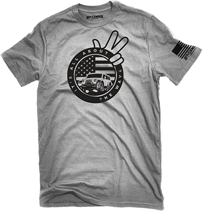 THE WAVE Off Road Wave Shirt Off Road Shirt Unisex Nice Prius