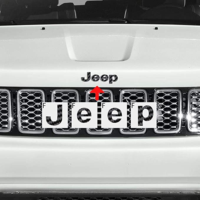 GPS Navigation Decal for Jeep Grand Cherokee 2014-2018 Full Set Interio F1N8 1X