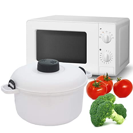 Takestop® - Mini olla a presión para horno, microondas ...