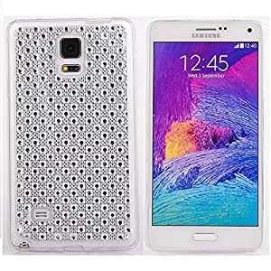 Case for Note 4,Galaxy Note 4 Case,Note 4 Case,Samsung Galaxy Note 4 Case,Samsung Note 4 Case,cover for note 4,Nacycase Fashion Creative Bling TPU Soft Clear Back Design Galaxy Note 4 Case Cover for Samsung Galaxy Note 4