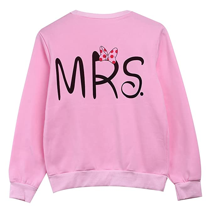MEIJING - Sudadera - para mujer Rosa Pink Mrs 38: Amazon.es: Ropa y accesorios