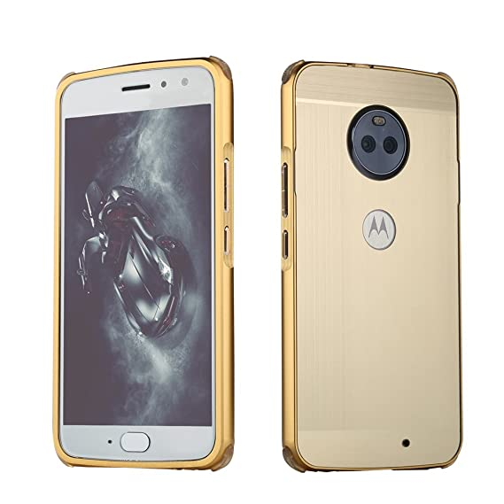 Amazon.com: for Motorola Moto X4 Aluminium Metal Bumper + ...