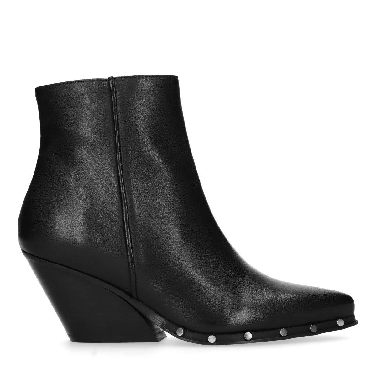Sacha Schuhe   Damen Stiefeletten   Leder   Farbe  Weiß