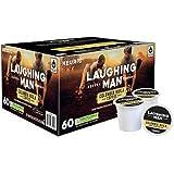 Laughing Man Colombia Huila, Single Serve Coffee K-Cup Pod, Dark Roast, 60