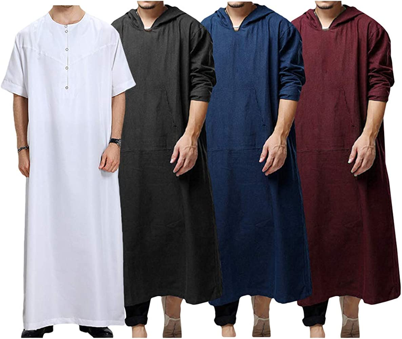 Musulman Robes - Camiseta de Manga Larga para Hombre (Kaftan ...
